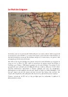 Histoire du port de Grignon