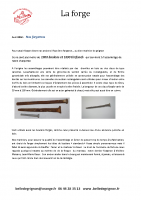 La Forge – 1900 boulons et 1690 tirefonds – Avril 2016