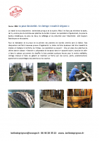 La pose des bordés – le cintrage Made in Grignon- Mars 2016
